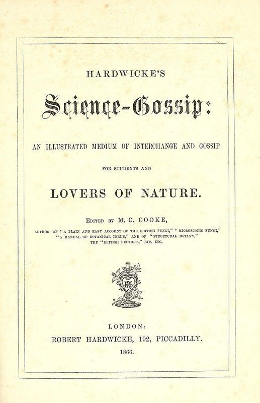Science Gossip [Zooniverse]