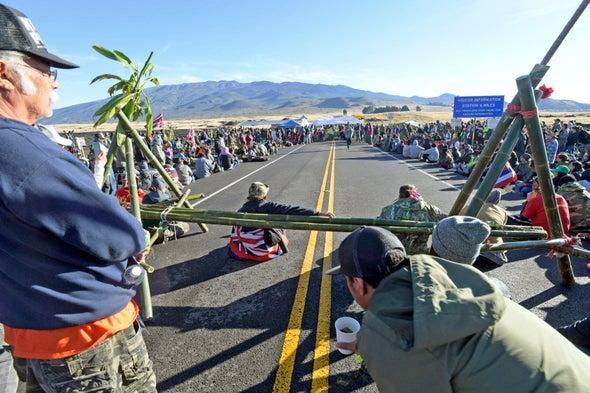 Hawaii Telescope Protest Shuts Down 13 Observatories on Mauna Kea