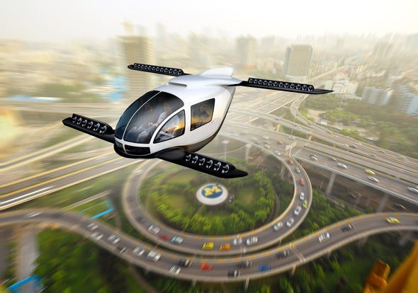 How Climate-Friendly Would Flying Cars Be?