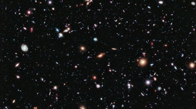 Light from Universe's First Stars Spotted in Hubble Photos