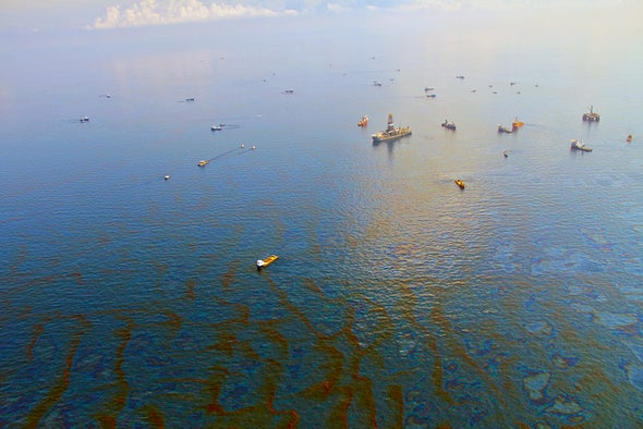 Bacteria Left a Methane Mess after Gulf Oil Spill