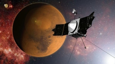Spacecraft Investigates What Happened to Mars' Atmosphere