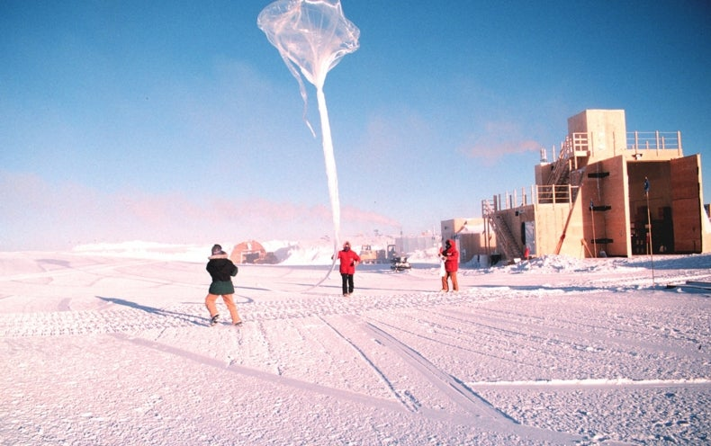 Antarctic Ozone Hole Is on the Mend