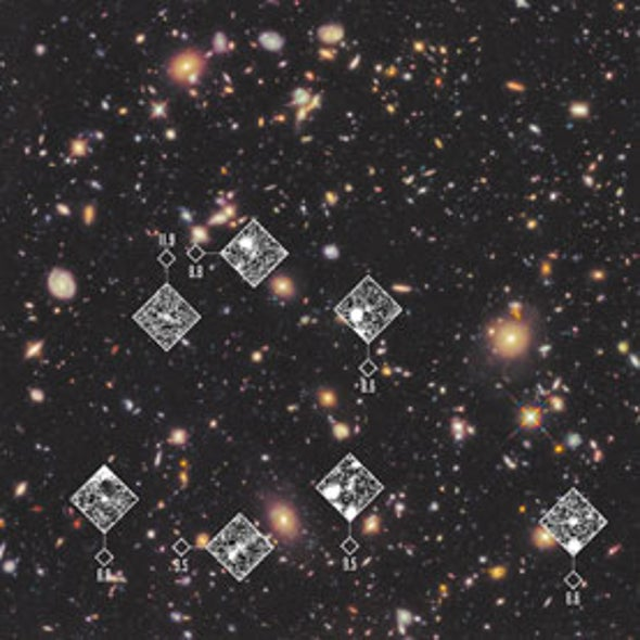 Faint Portraits of First Galaxies Shed Light on Cosmic Dawn