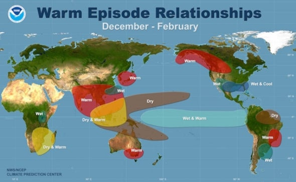 Odds of El Niño Weather Pattern Drop, but Still Expected to Form