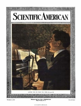 Scientific American Volume 115, Issue 19