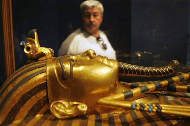 """Experts Doubt Claims of """"Hidden Chambers"""" in King Tut's Tomb"""