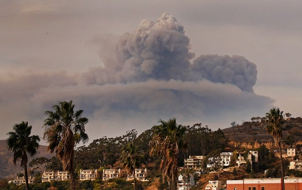 Fueled by Climate Change, Wildfires Erode Air Quality Gains