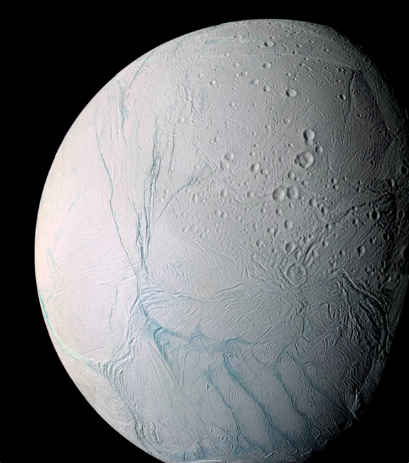 First Active Hydrothermal System Found beyond Earth