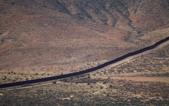 Trump's Wall May Threaten Thousands of Plant and Animal Species on the U.S.–Mexico Border