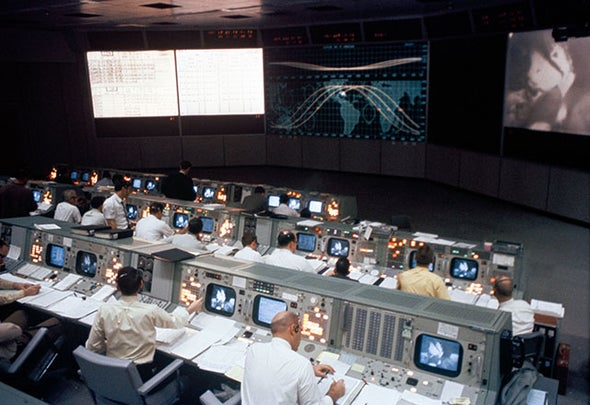 NASA Apollo Mission Control Room Turns 50