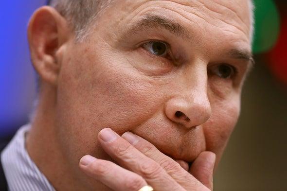 Ethics Investigation into EPA Head Scott Pruitt Widens