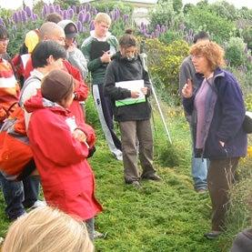Kerry-Jayne Wilson teaching (her last year in Ecol103)