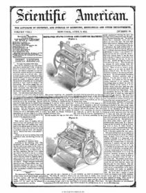 Scientific American Volume 8, Issue 30