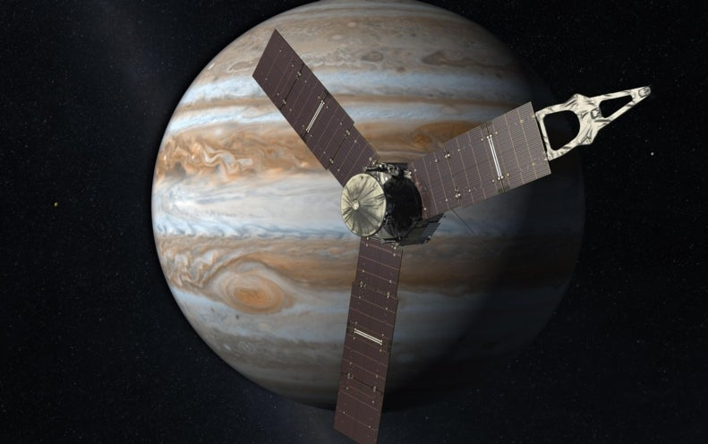 Juno Arrives at Jupiter