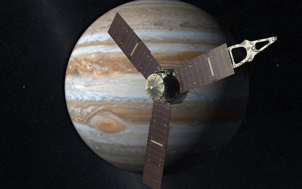Juno Arrives at Jupiter