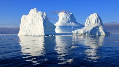 Icebergs Can Be Green, Black, Striped, Even Rainbow [Slide Show]