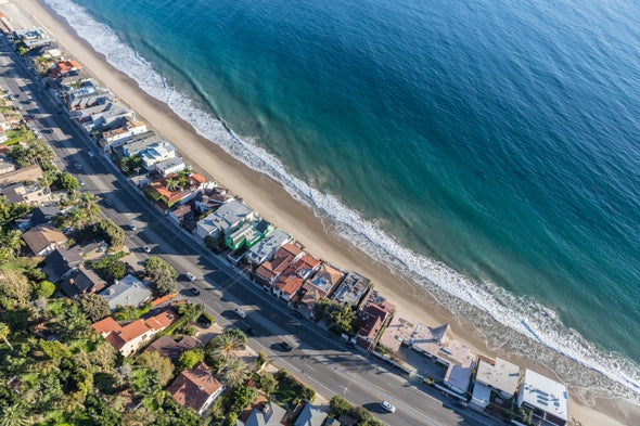 California May Buy Up Beach Houses Threatened by Sea-Level Rise
