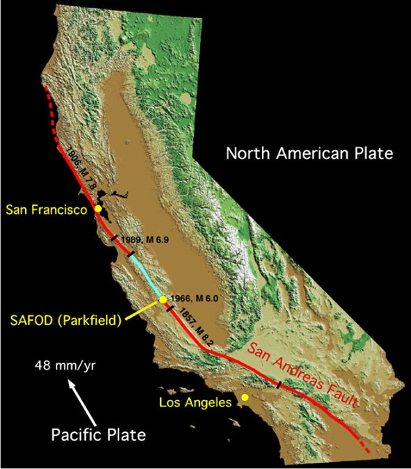 NSF Pulls Support for Quake Observatory