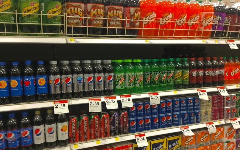 Industry-Funded Soda Studies Don't Recognize Obesity Risks
