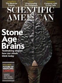 Scientific American Volume 314, Issue 4