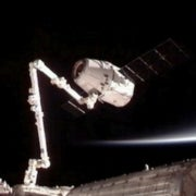 Private Capsule Arrives at Space Station in Historic First
