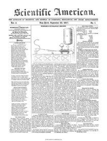Scientific American Volume 3, Issue 1