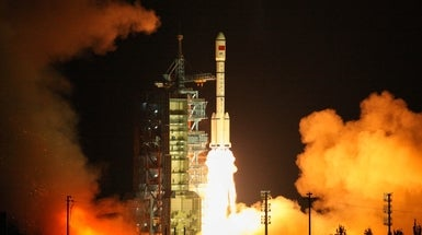 China Launches Second Space Lab