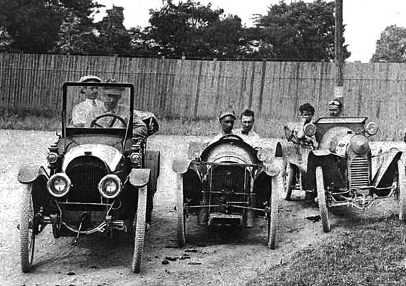 Motor Vehicles, 1914 [Slide Show]