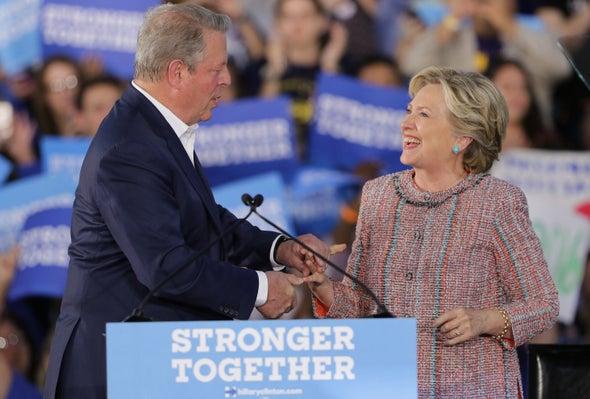Clinton Rally Focuses on Climate