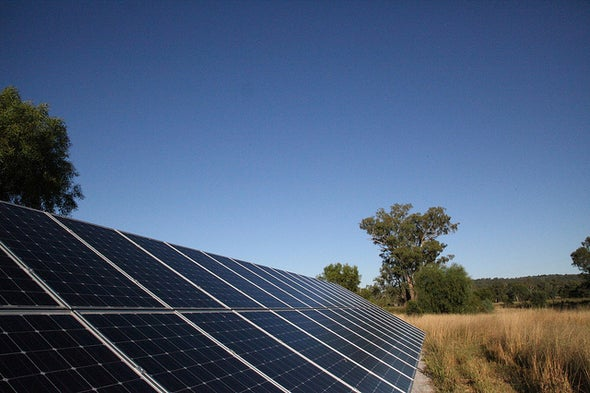 Tandem Solar Cell May Boost Electricity from Sunlight