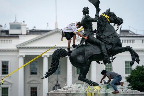 Why People Are Toppling Monuments to Racism