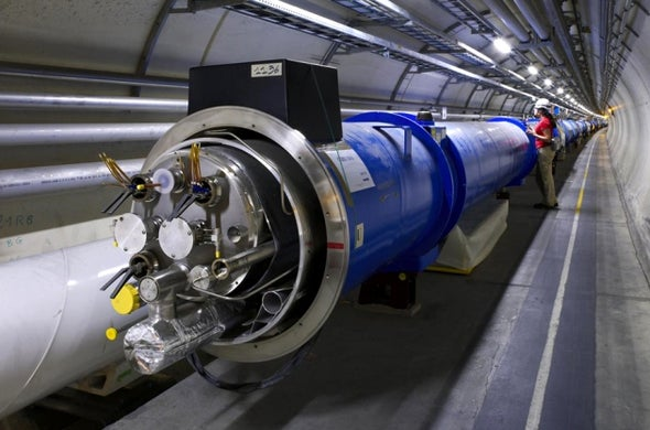 Short Circuit Delays Restart of the Large Hadron Collider