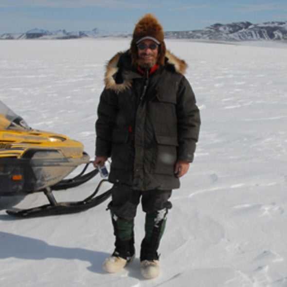 Snowmobile Trek across the Arctic Finds Natural and Human Changes