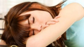 Less Sleep Linked to Blues in Teens