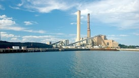 A Natural Gas Power Plant with Carbon Constraints—and an Expiration Date