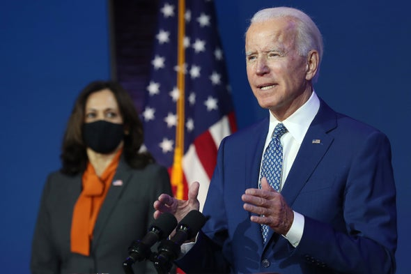Biden Stocks Transition Teams with Climate Experts