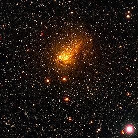 The Galaxy Collision Next Door
