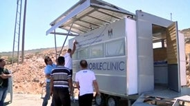 Mobile Health Clinic Reaches Patients in West Bank