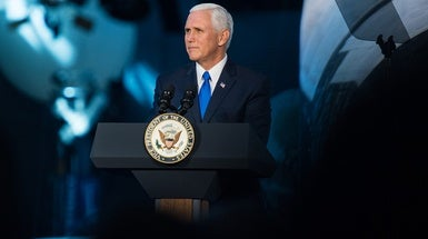 U.S. Will Return to the Moon, Pence Says