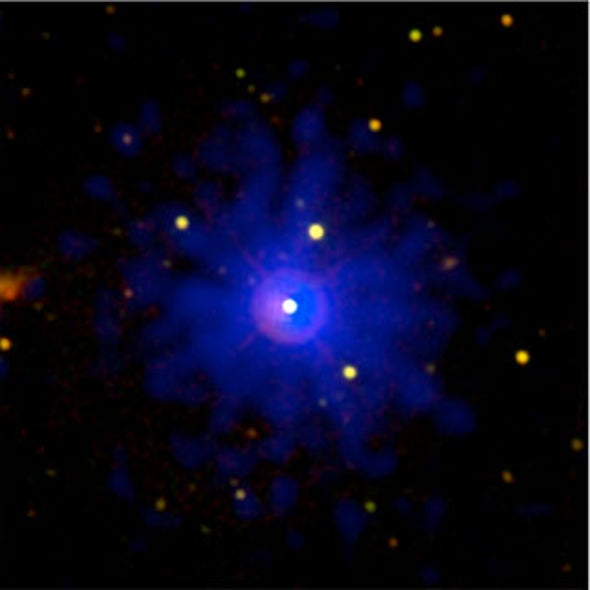 Brightest Gamma-Ray Burst Packed a One-Two Punch