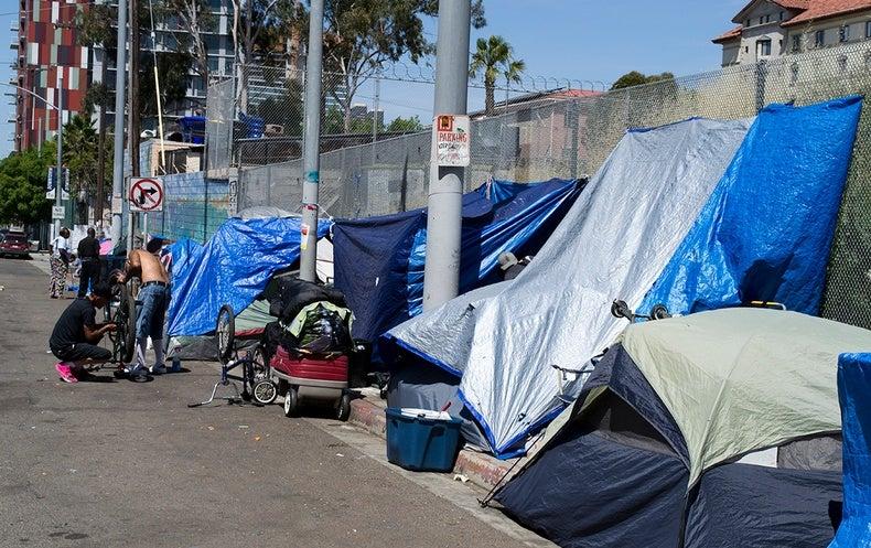 Hepatitis A Outbreak Tears through San Diego Homeless Community