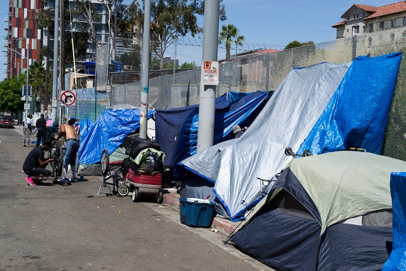 Hepatitis A Outbreak Tears through San Diego Homeless Community