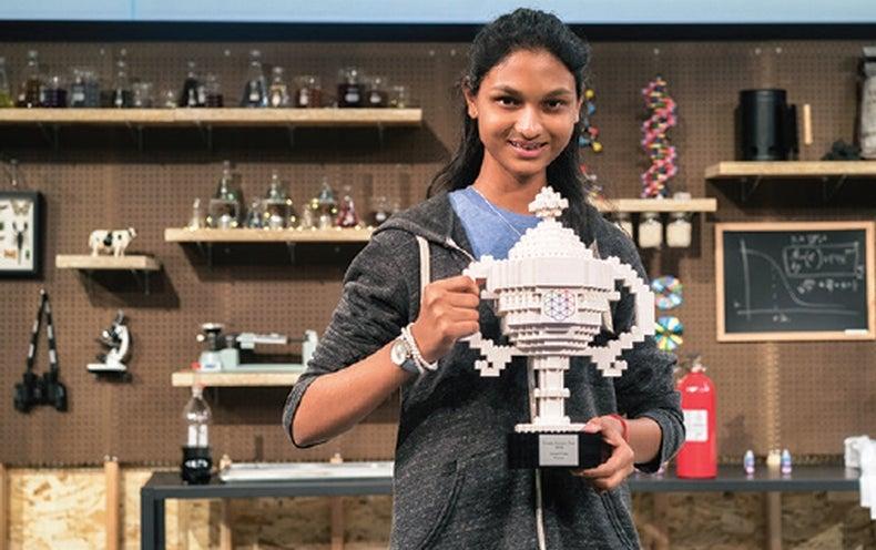 Teen Wins Big for a Homemade Polymer