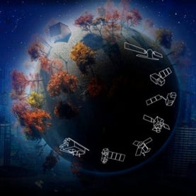 Sentinel satellite illustration