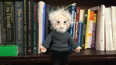 Einstein in the Wild: We Found Him [Slide Show]
