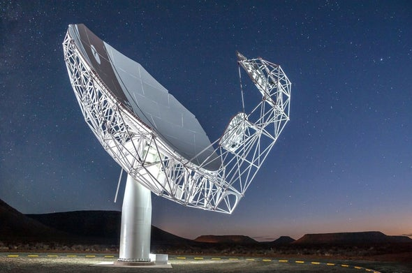 South Africa Celebrates Completion of Gigantic, Supersensitive Telescope