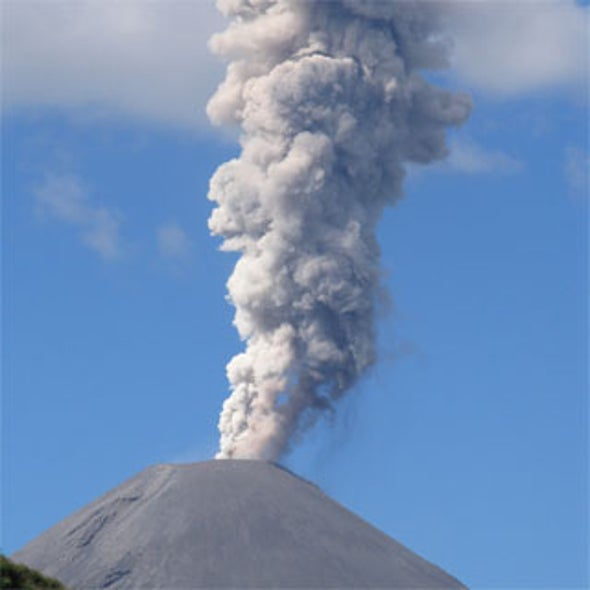 Chile Volcano Eruption Sends Residents Fleeing, Causes One Death