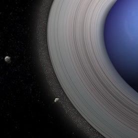 Neptune's ring system
