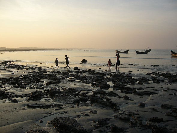 Embankments Exacerbate Sea Level Rise in Bangladesh